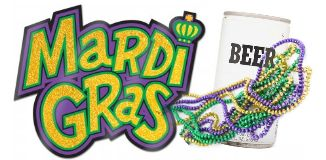 Mardi Gras at HogRock'Toberfest - Bead, Babes, Bands and Beer !