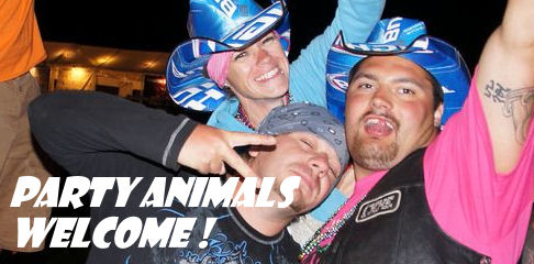 Party animals are welcome !